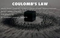 قانون کولن و استخراج آن از فرضیات اساسی الکتریسیته ساکن