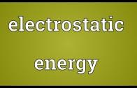 انرژی الکتریکی ساکن توزیع بار گسسته