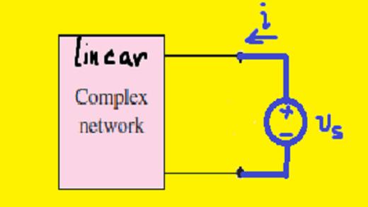 محاسبه همزمان ولتاژ مدار باز، جریان اتصال کوتاه و مقاومت تونن
