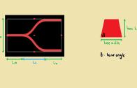 ۱- تعریف هندسه و محدوده شبیه سازی: Y-Branch